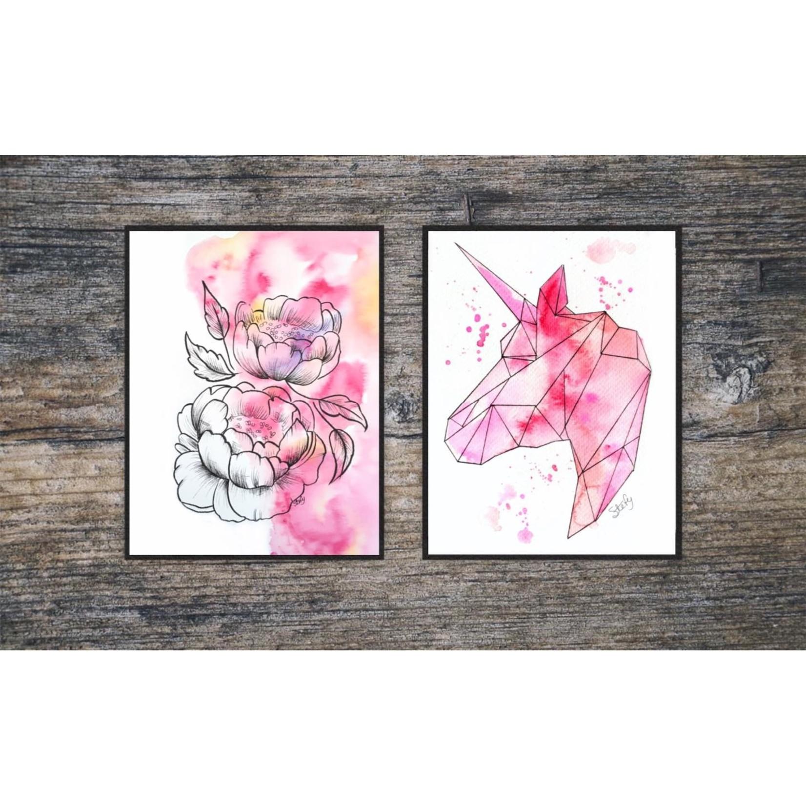 Stefy Artist    Illustration Fleurs