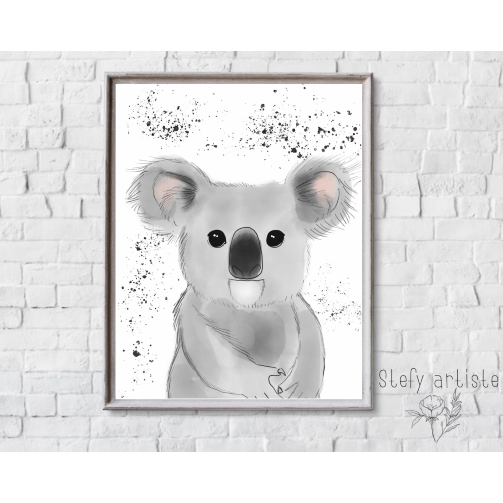 Stefy Artist || Illustration Koala