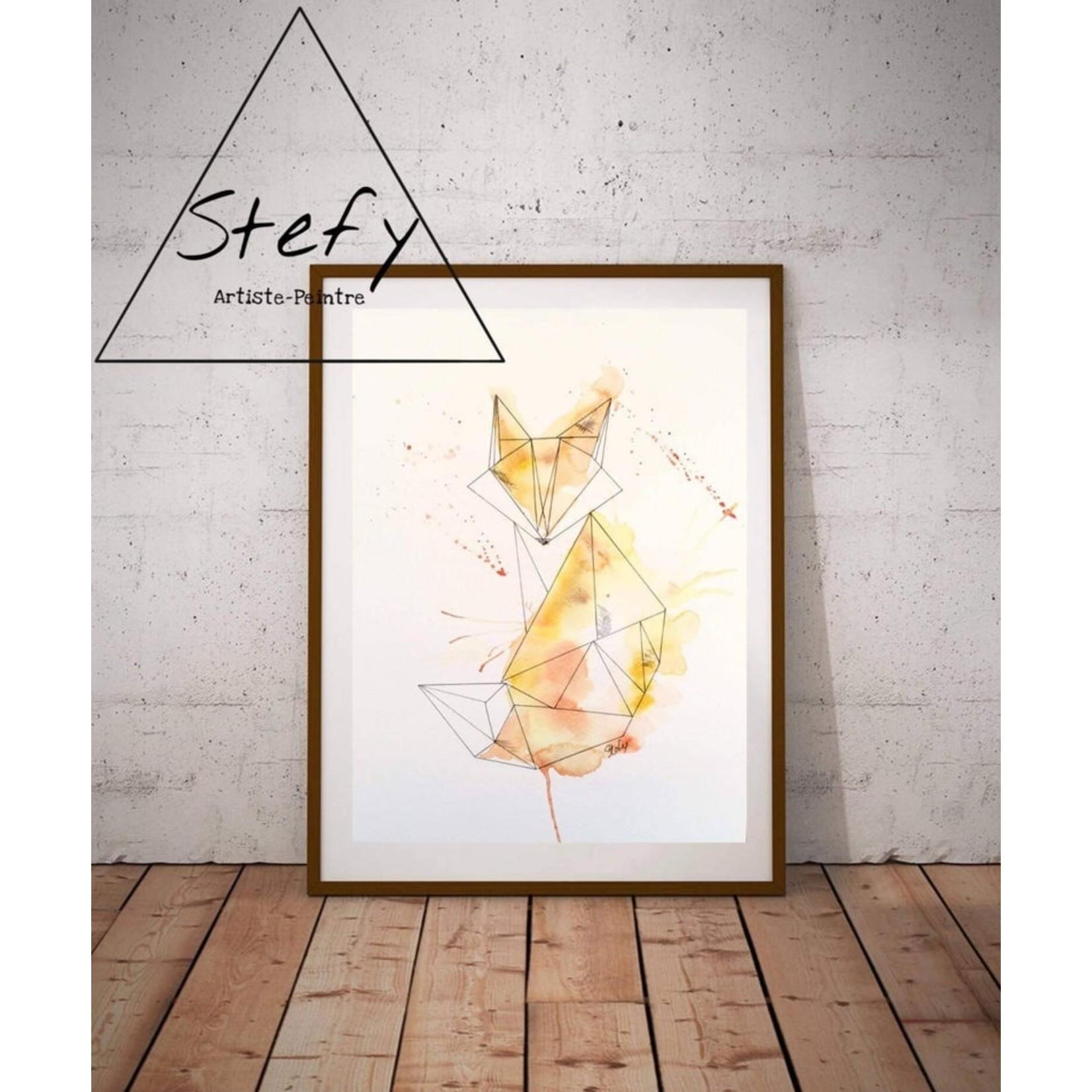 Stefy Artist || Illustration Renard  1