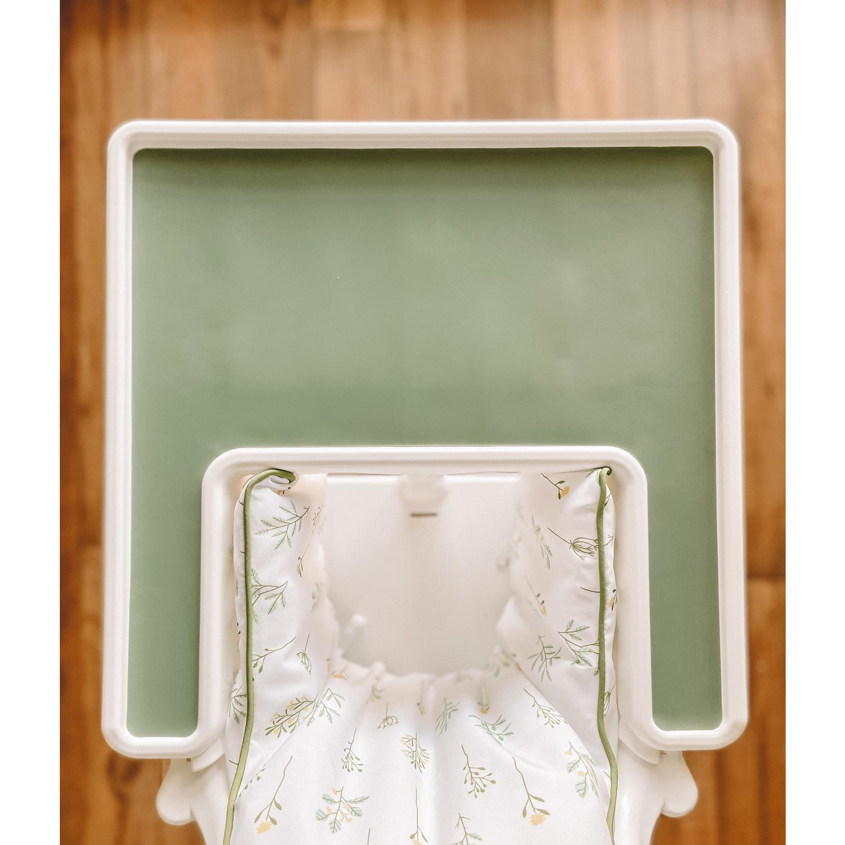 Leah produit pour bebe    Napperon Olive