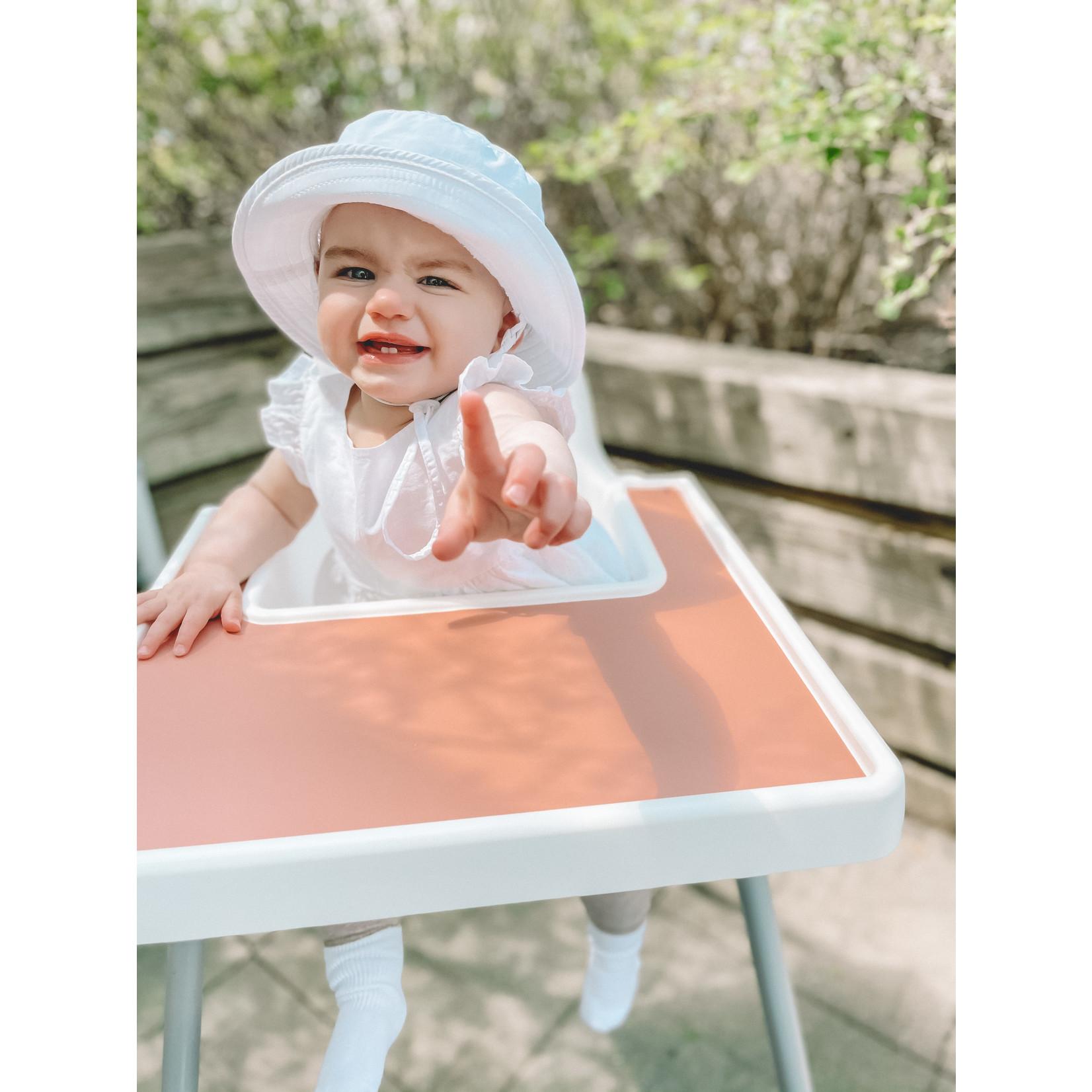 Leah produit pour bebe    Napperon Litchi