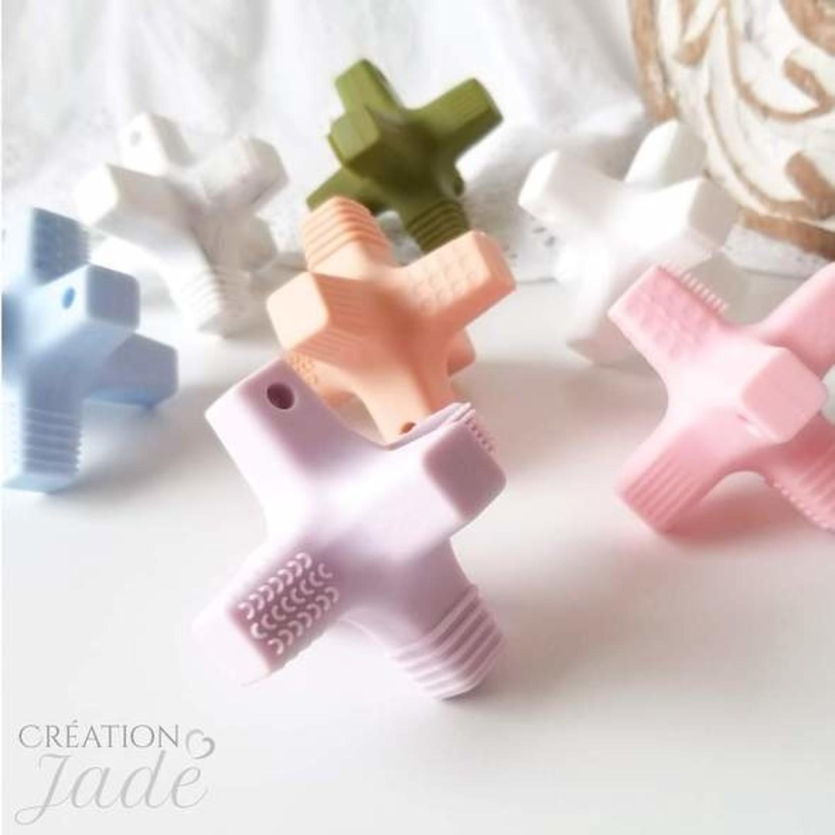 Création Jade || Croix sensorielle Gris