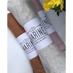 Lou Marine || Couverture Gris pâle Chiné