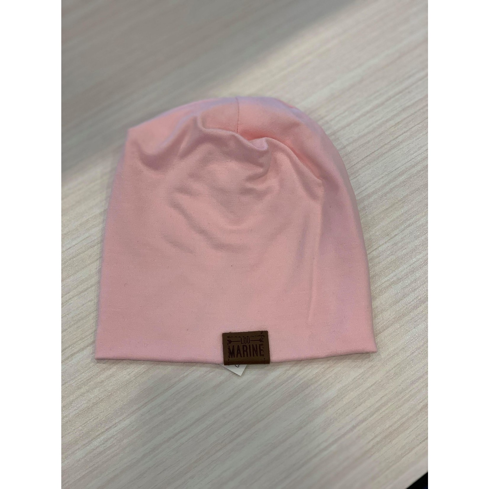 Lou Marine    Tuque  0-3 M  Rose Pâle