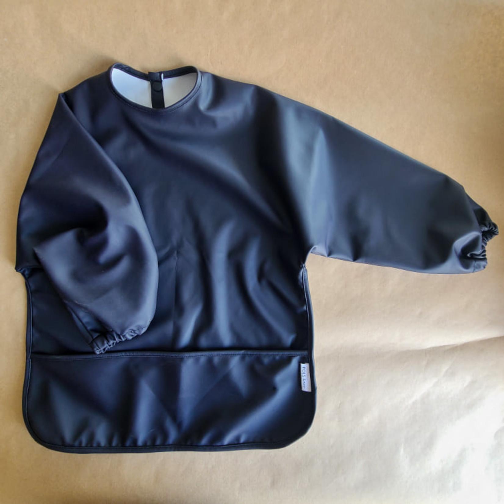 Pois & Moi || Bavette à manche 0-24 M Bleu Sombre