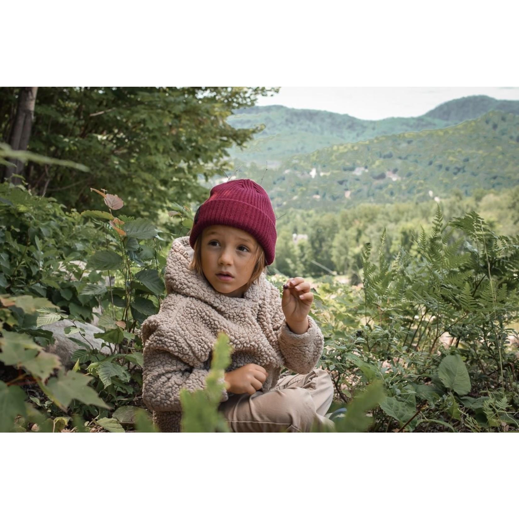 Bromance || Tuque Doublé 1-4 ans Bourgogne