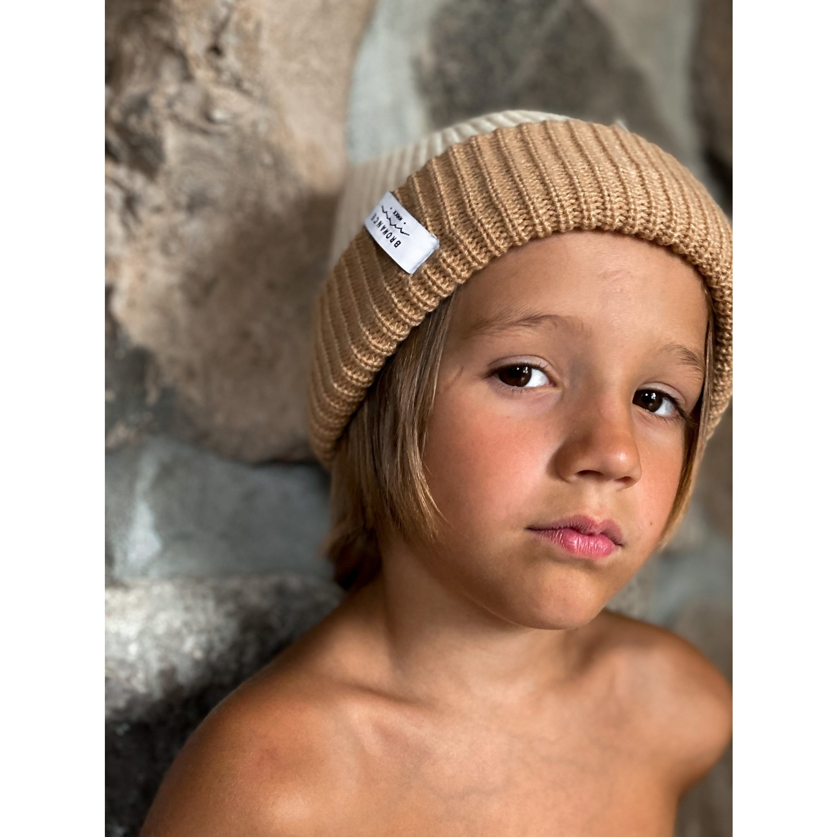 Bromance || Tuque Doublé 5-9 ans Latté