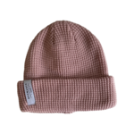 Bromance || Tuque Waffle Rose 1-4 ans