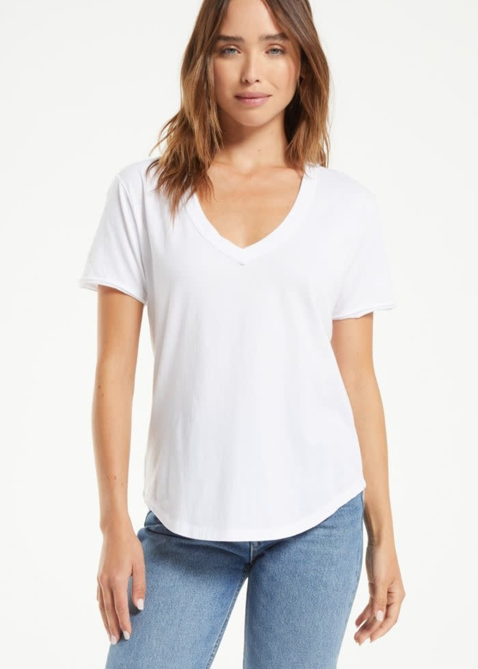 Z Supply Organic V-neck Tee