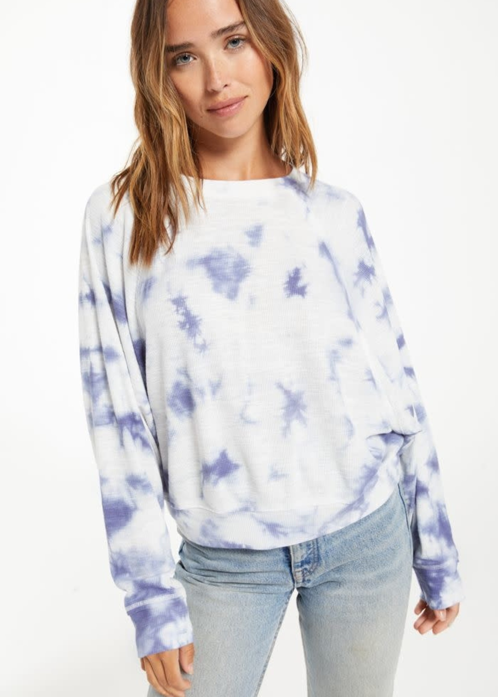 Z Supply Claire Tie Dye Top