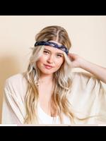 Leto Accessories Tie Dye Headwrap