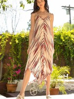 THML Red Printed Maxi