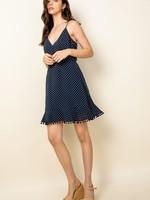 THML Navy Wrap Dress
