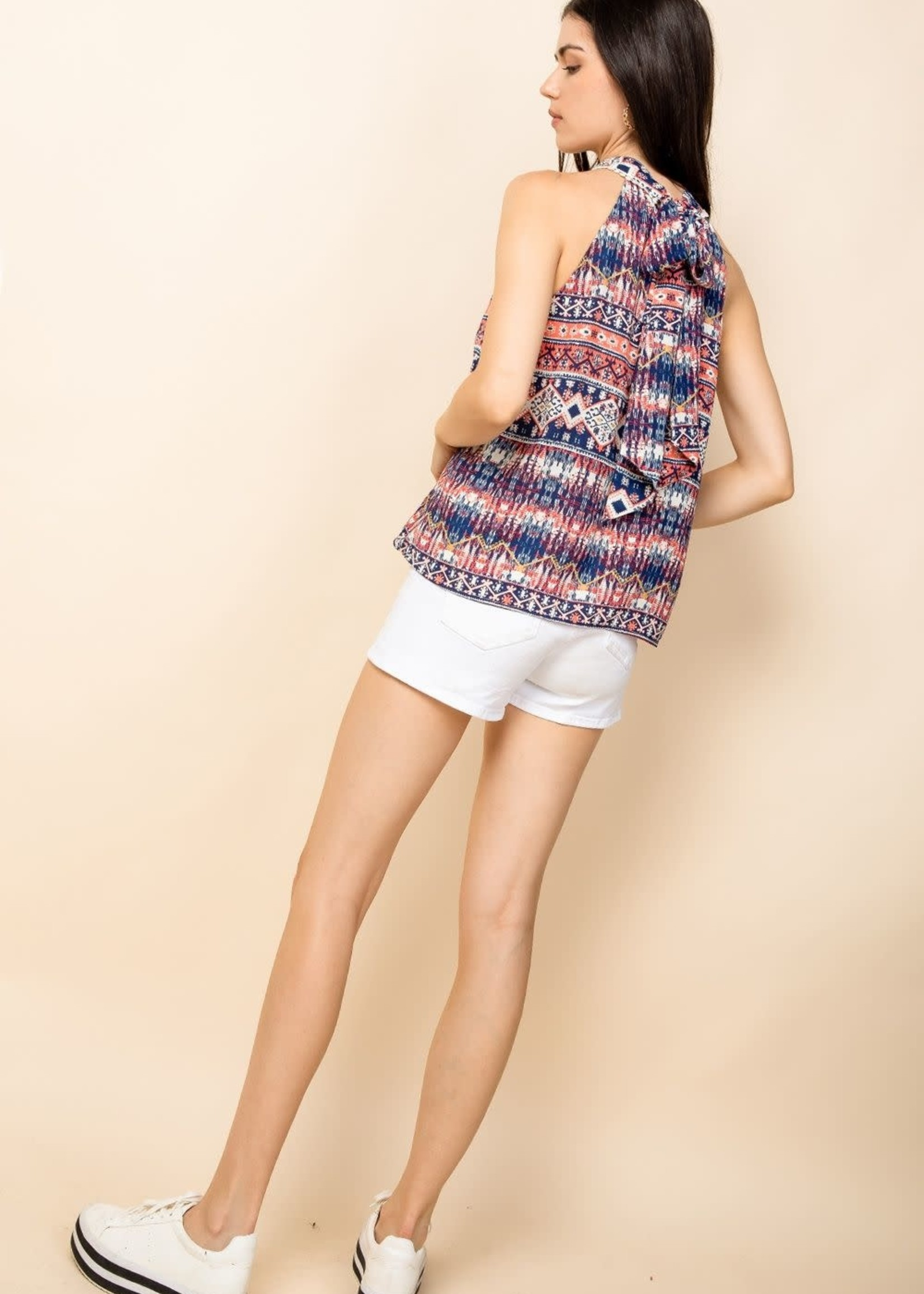 THML Pink Printed Top