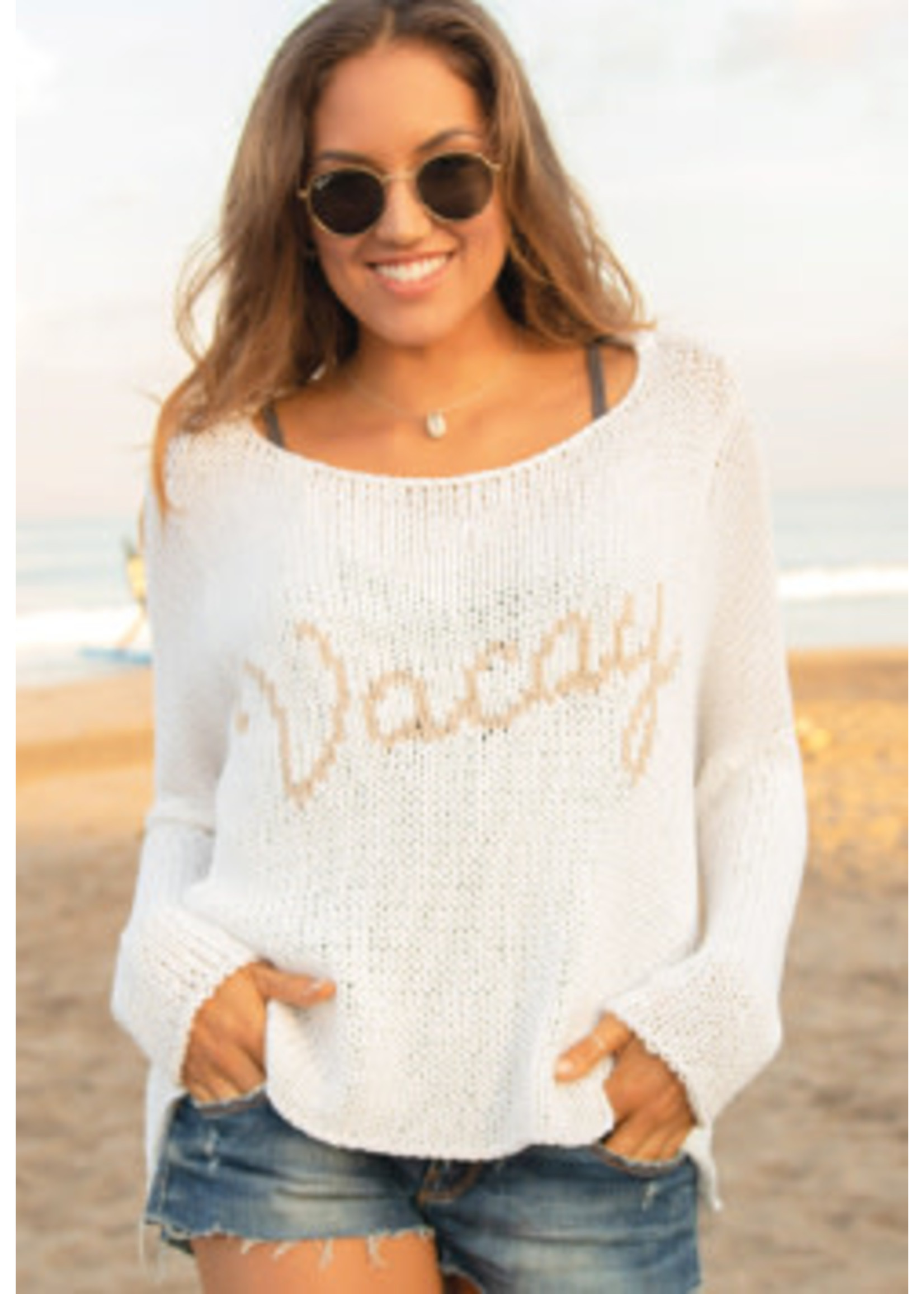 Wooden Ships Vacay Cotton Crew