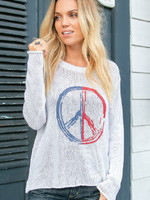 Wooden Ships Peace Crew Sweater