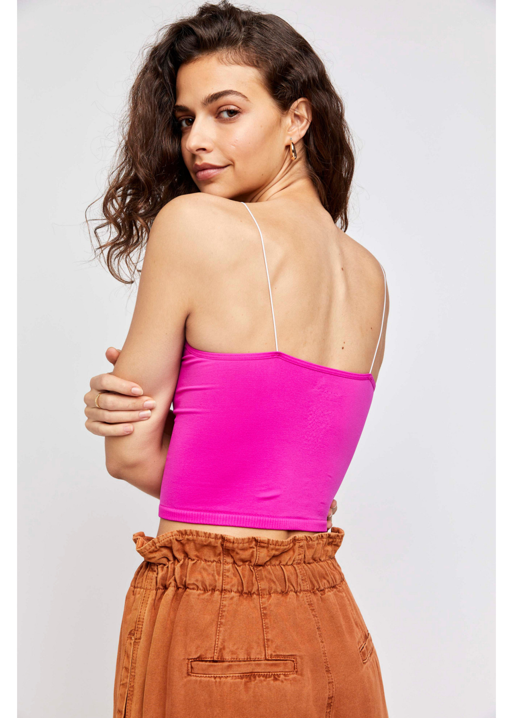 Free People Pink skinny strap