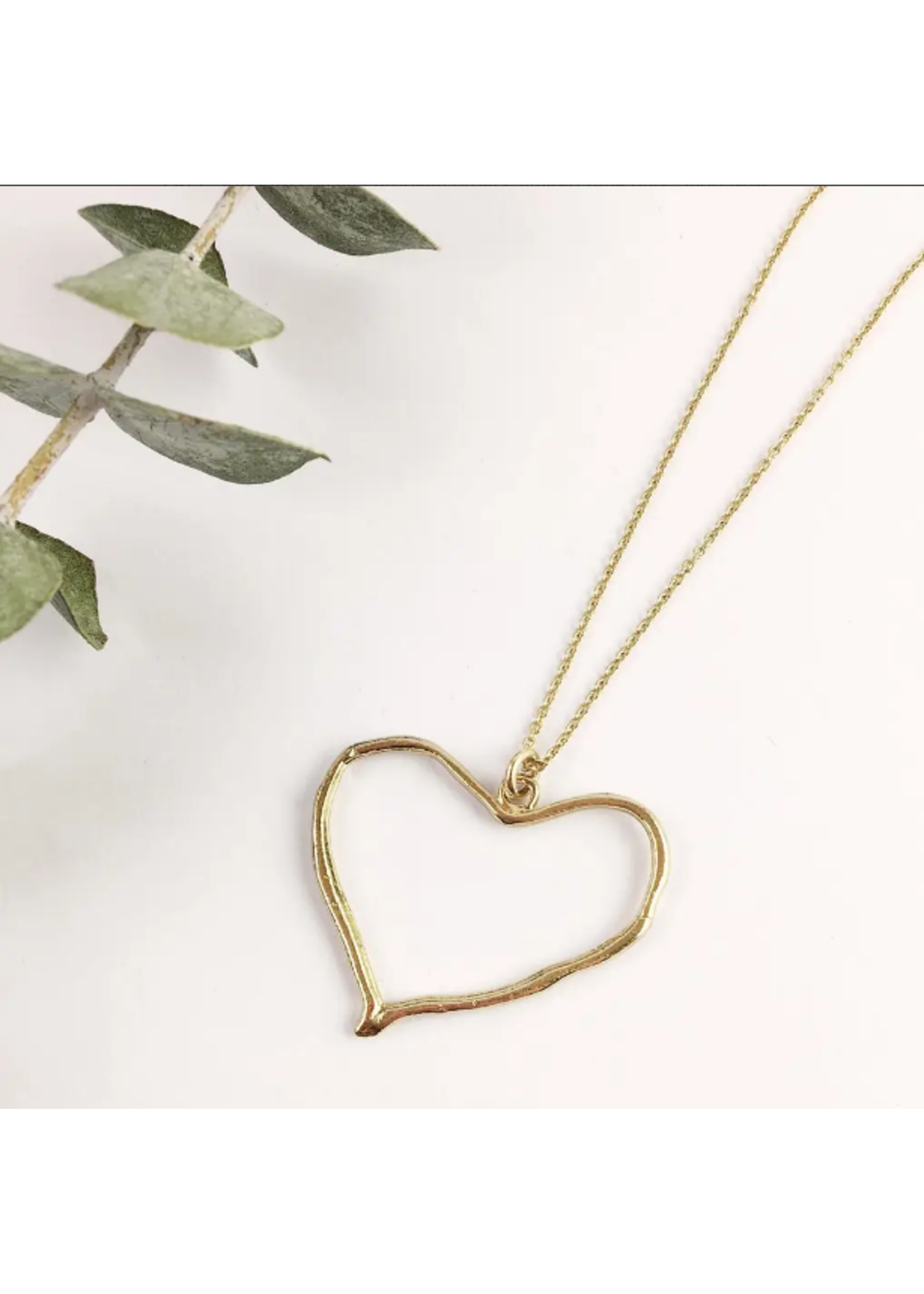 Wild Abandon Heart Necklace