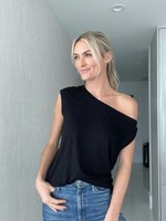 Six Fifty One Shoulder Tee