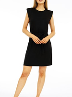Veronica M Black Cap Dress