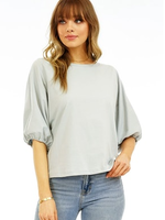 Veronica M Puff Sleeve Top