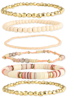 ZAD Cream Bracelet Set