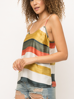 Mystree Multi Stripe Tank