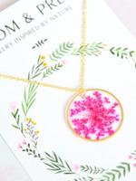 Bloom & Press Large Flower Necklace