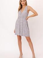 Gilli Grey Dot Dress