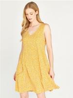 Apricot Ditsy Dress