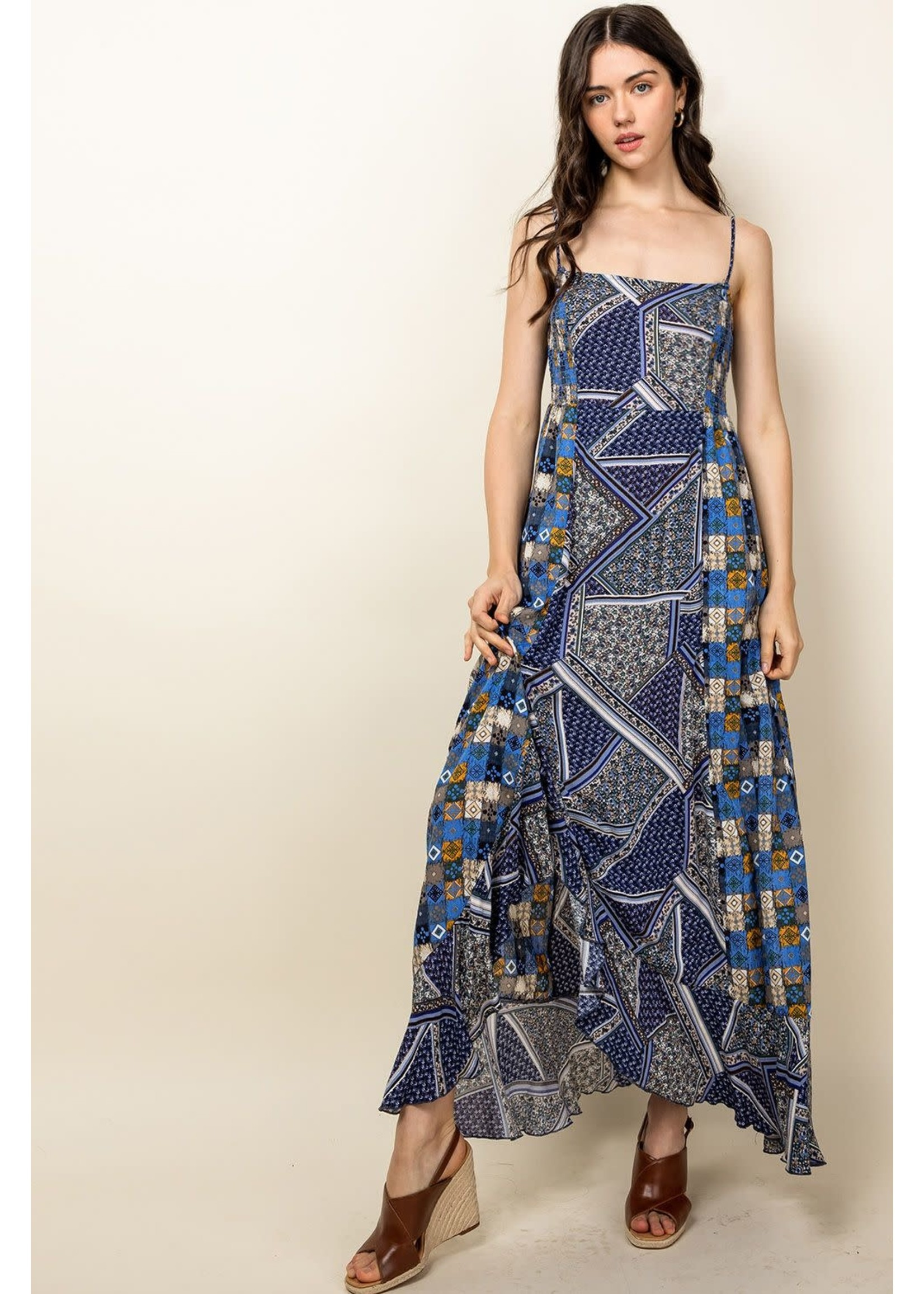 THML Mixed Dress