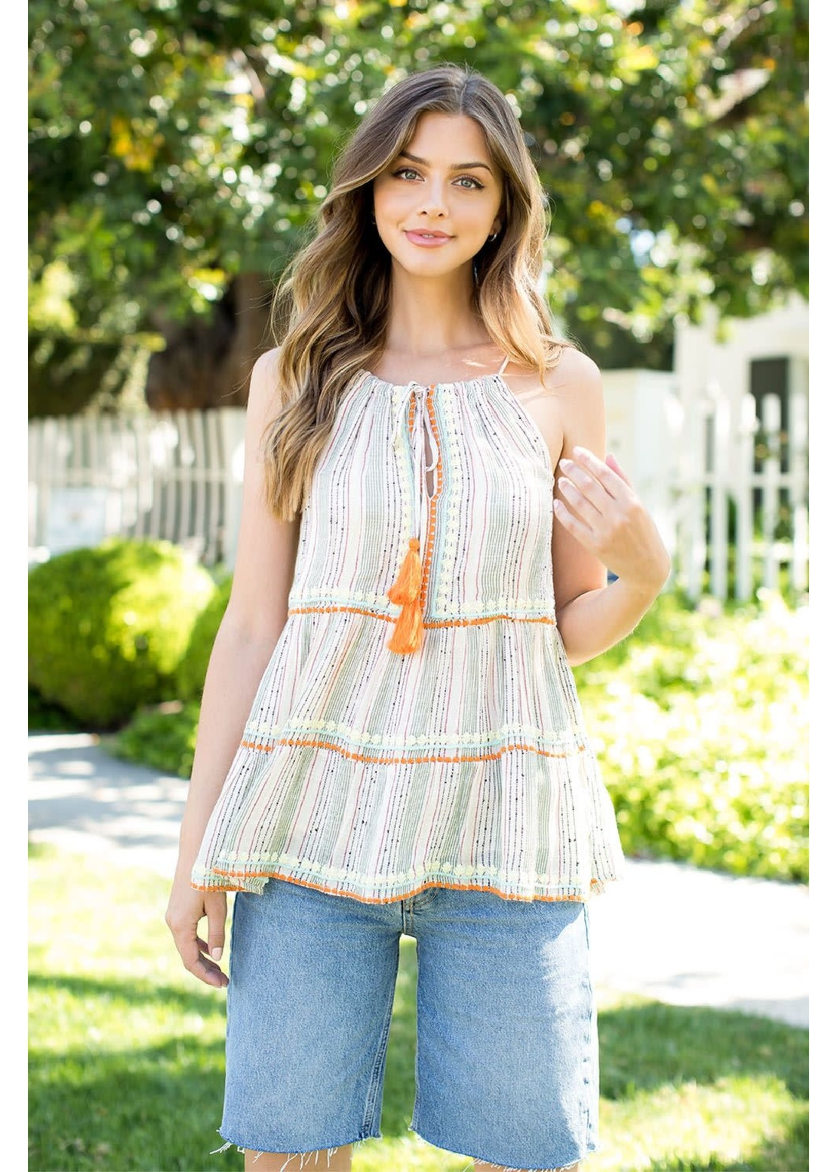 THML Embroidered Top