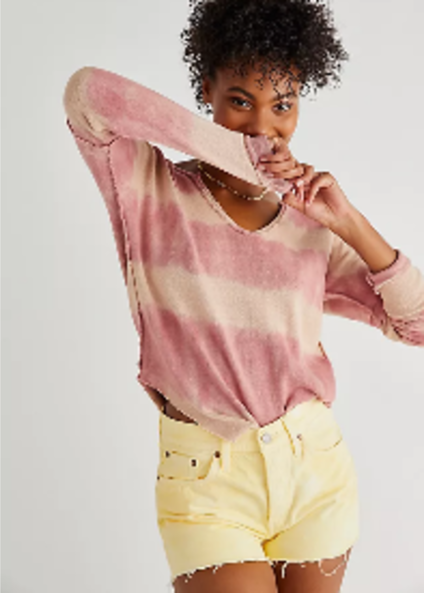 Free People Washed Pullover
