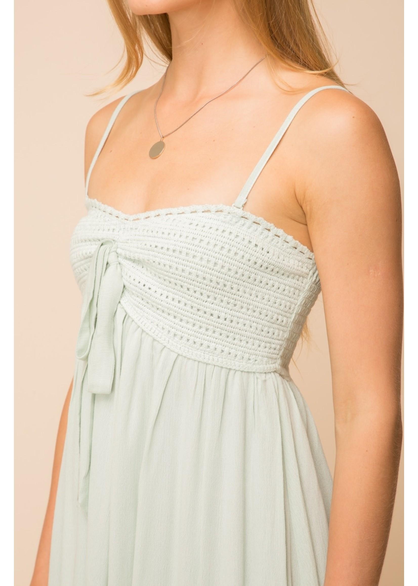 Hem & Thread Crochet Dress