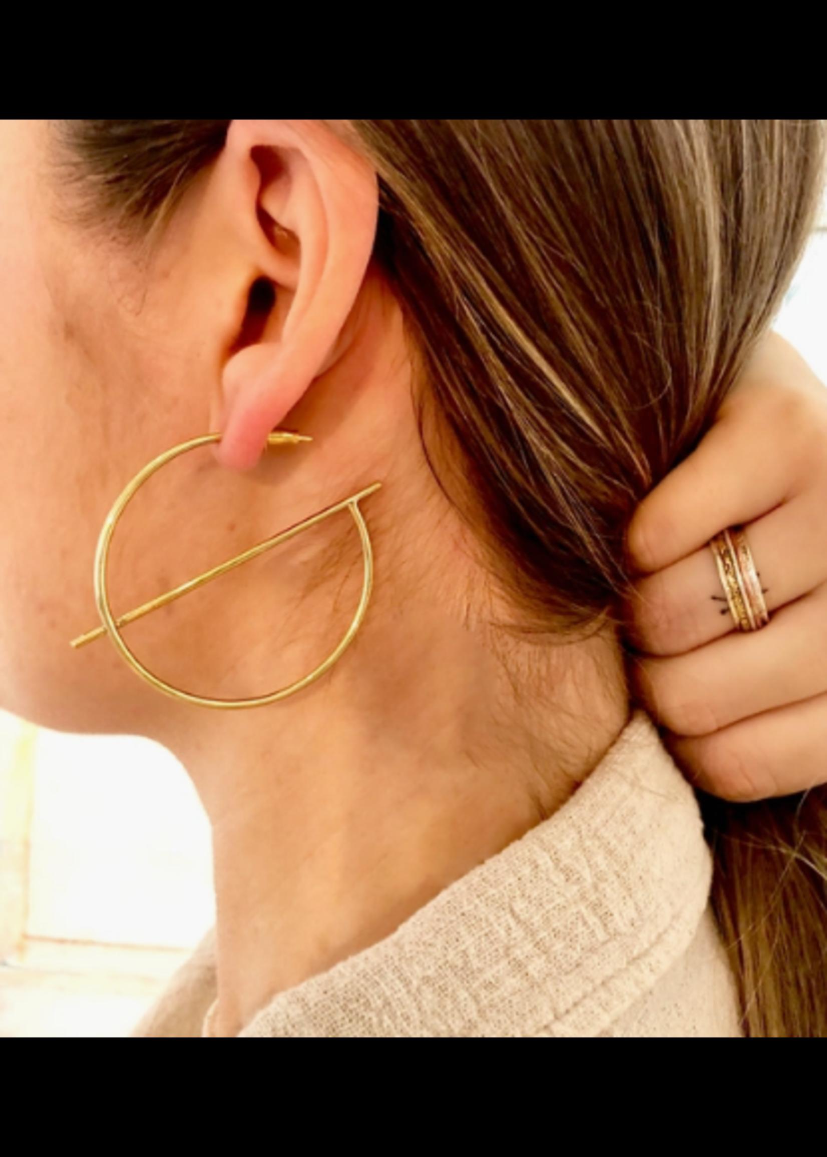 Baizaar Geometric Earring