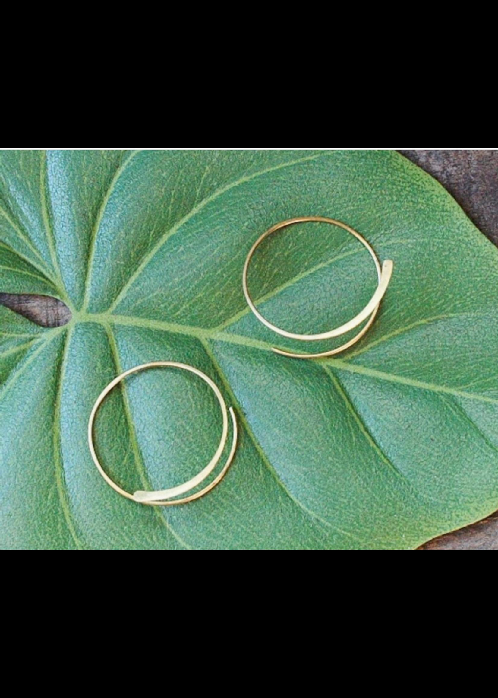 Baizaar Spiral Earring
