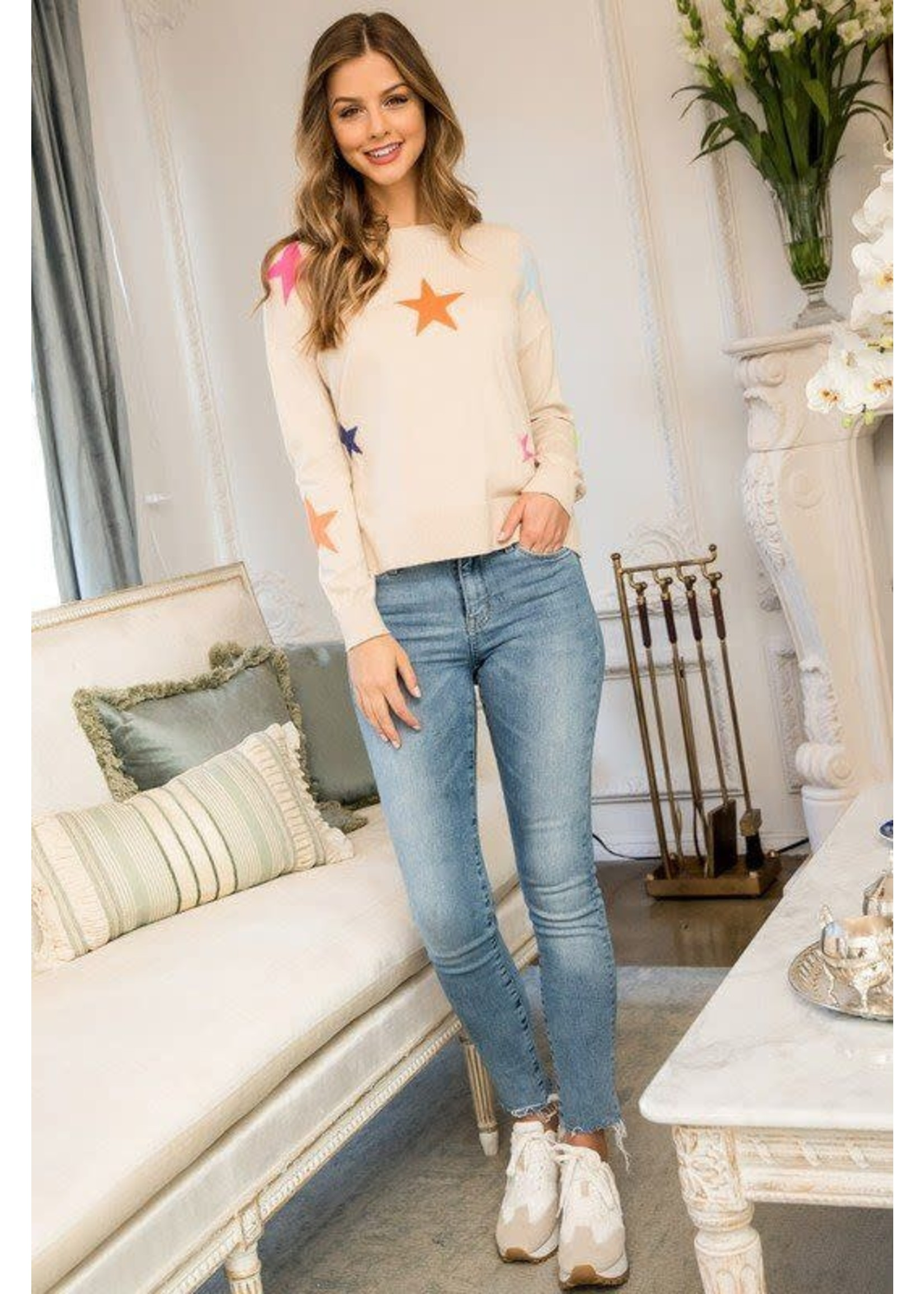 THML Star Sweater