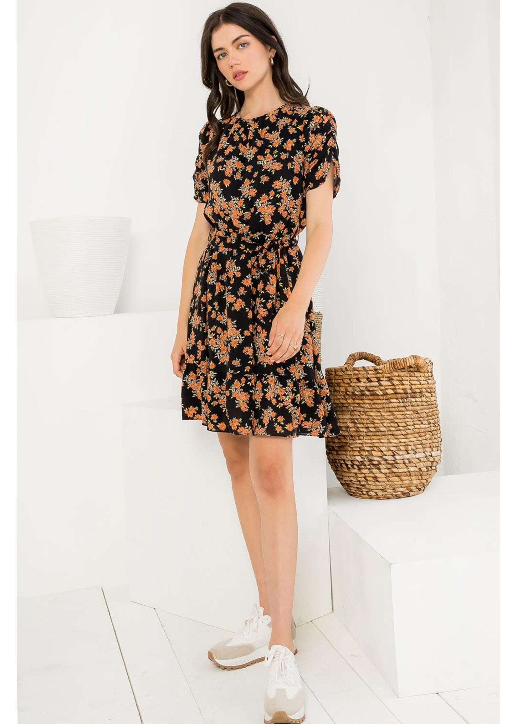 THML Floral Dress