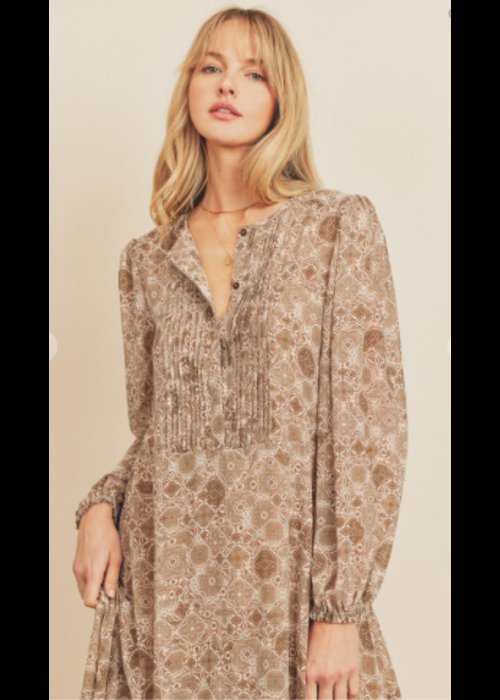 Dress Forum Boho Handkerchief Midi Dress