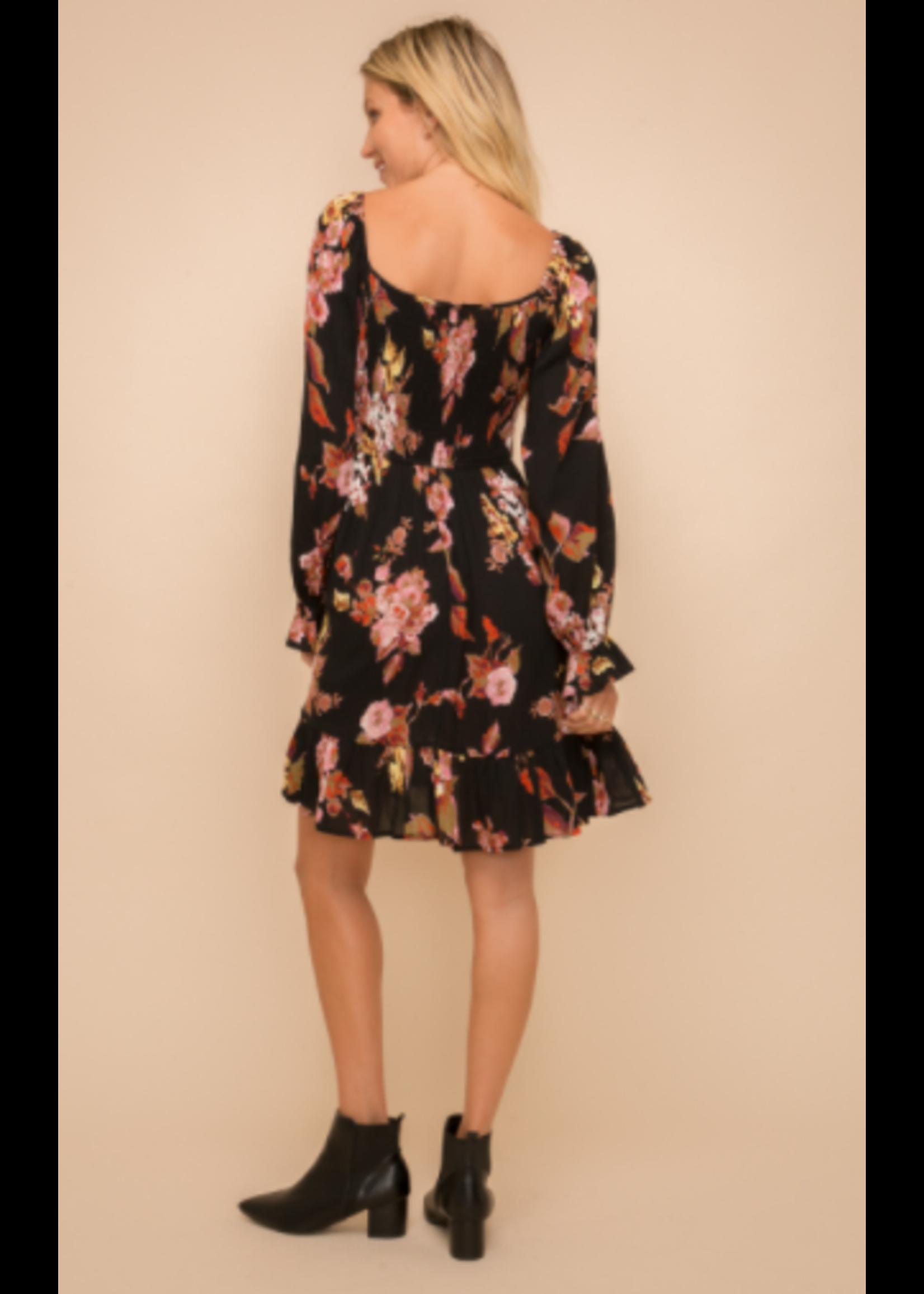 Hem & Thread Smocked Dress