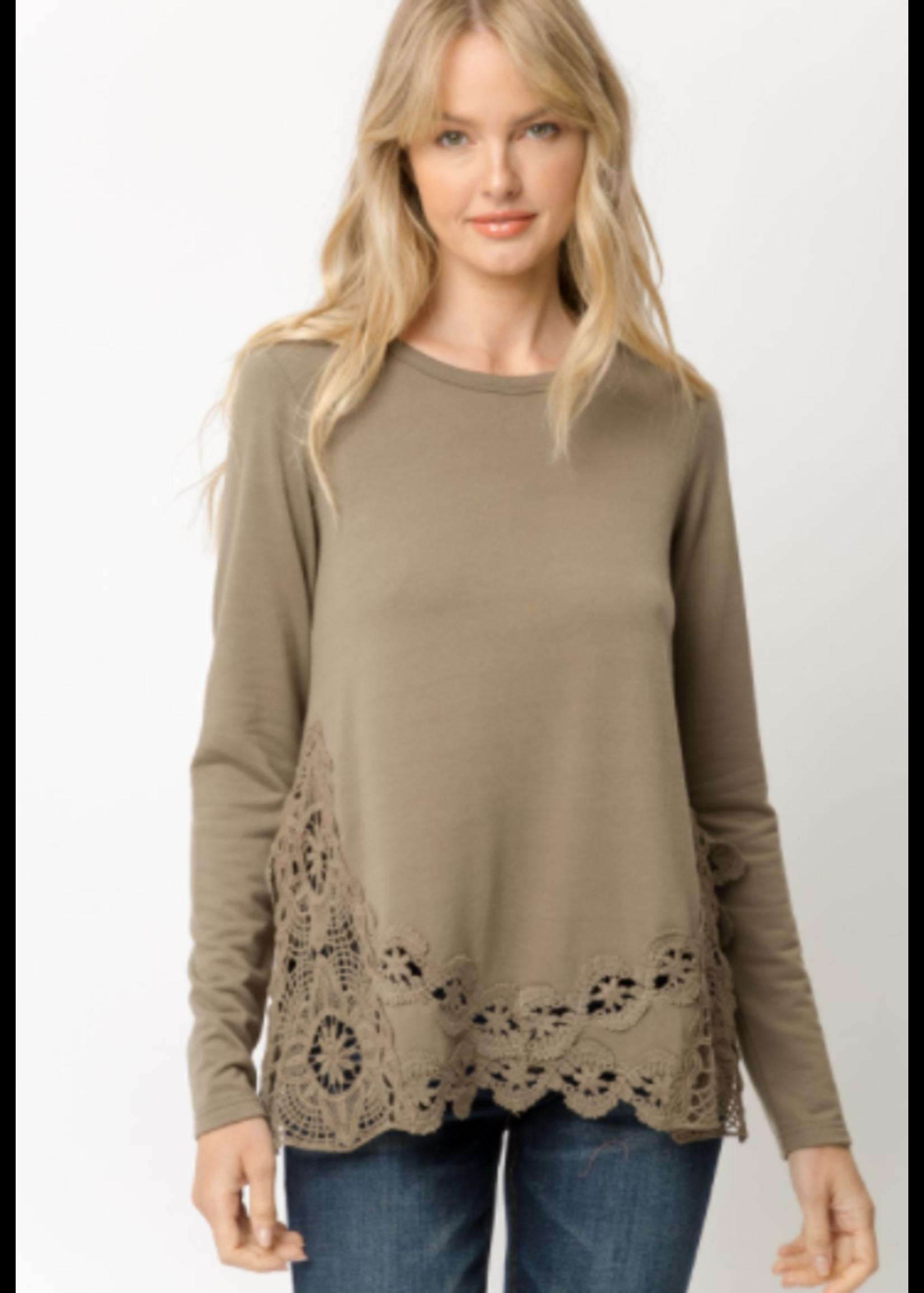 Mystree Crochet Top