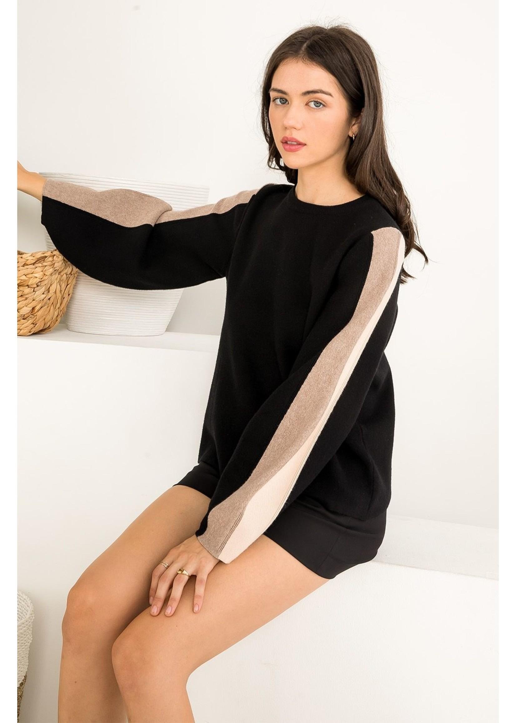 THML Block Sweater