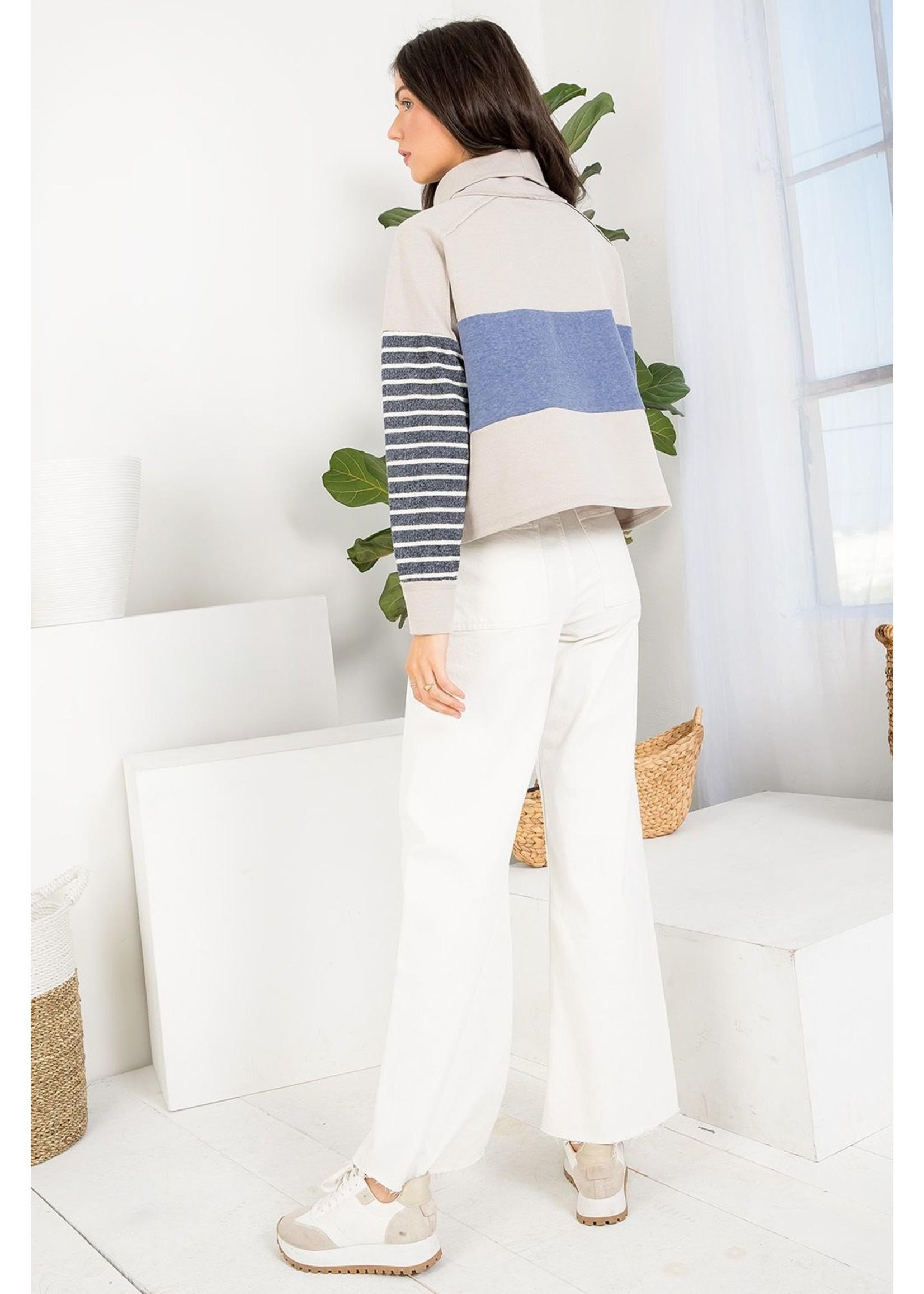 THML Striped Sweater