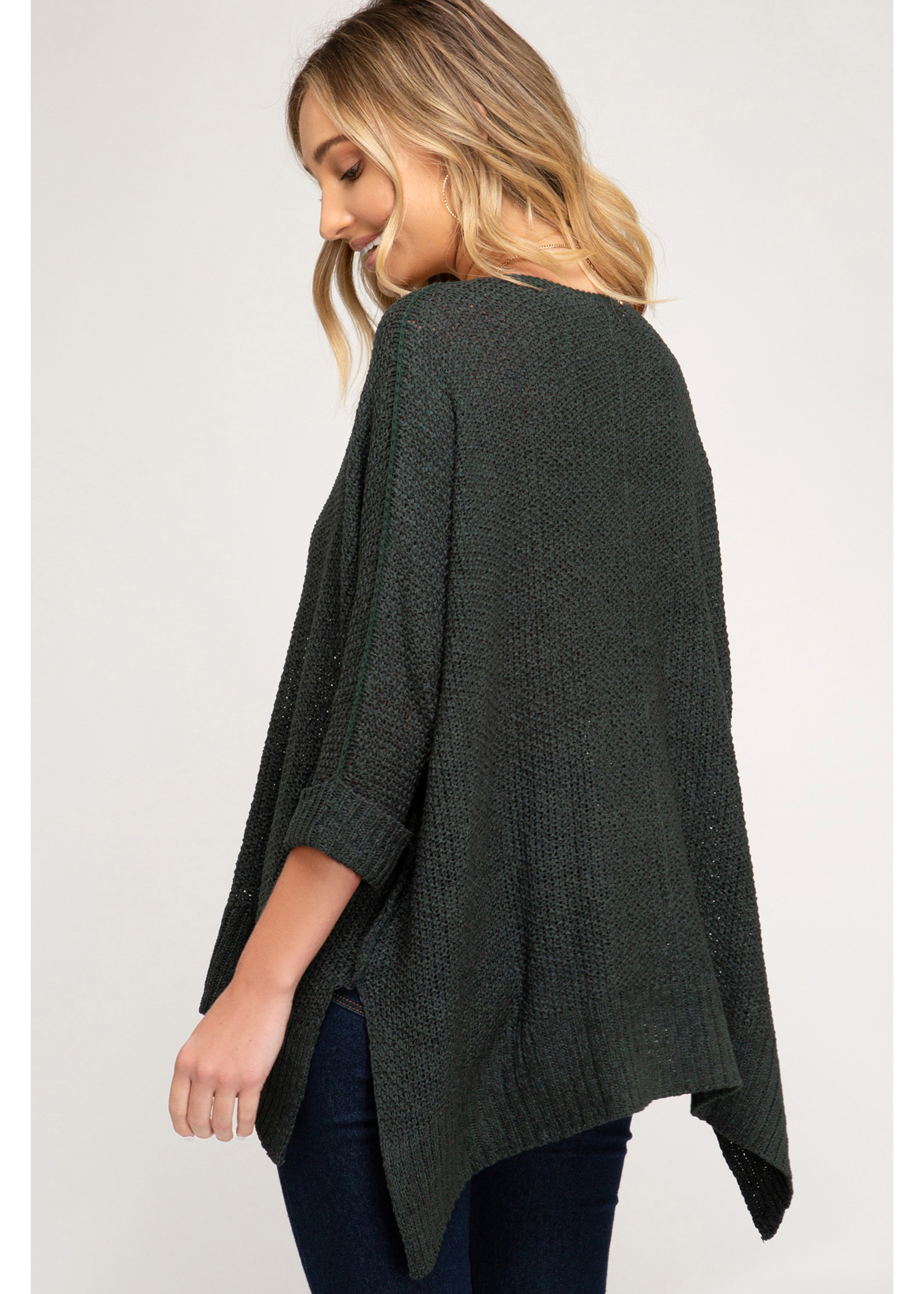 She & Sky Sea Sweater