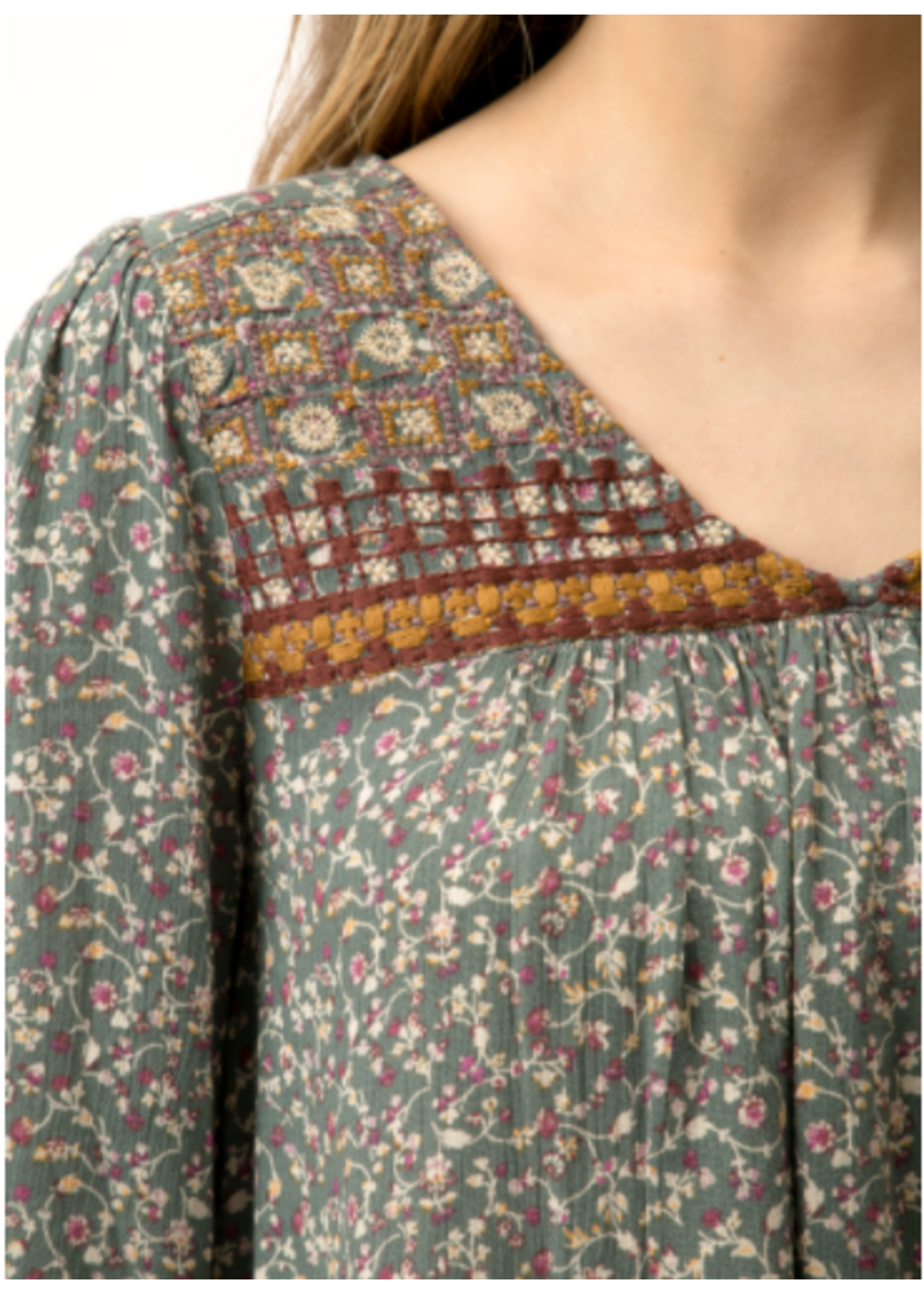 Mystree Floral Blouse