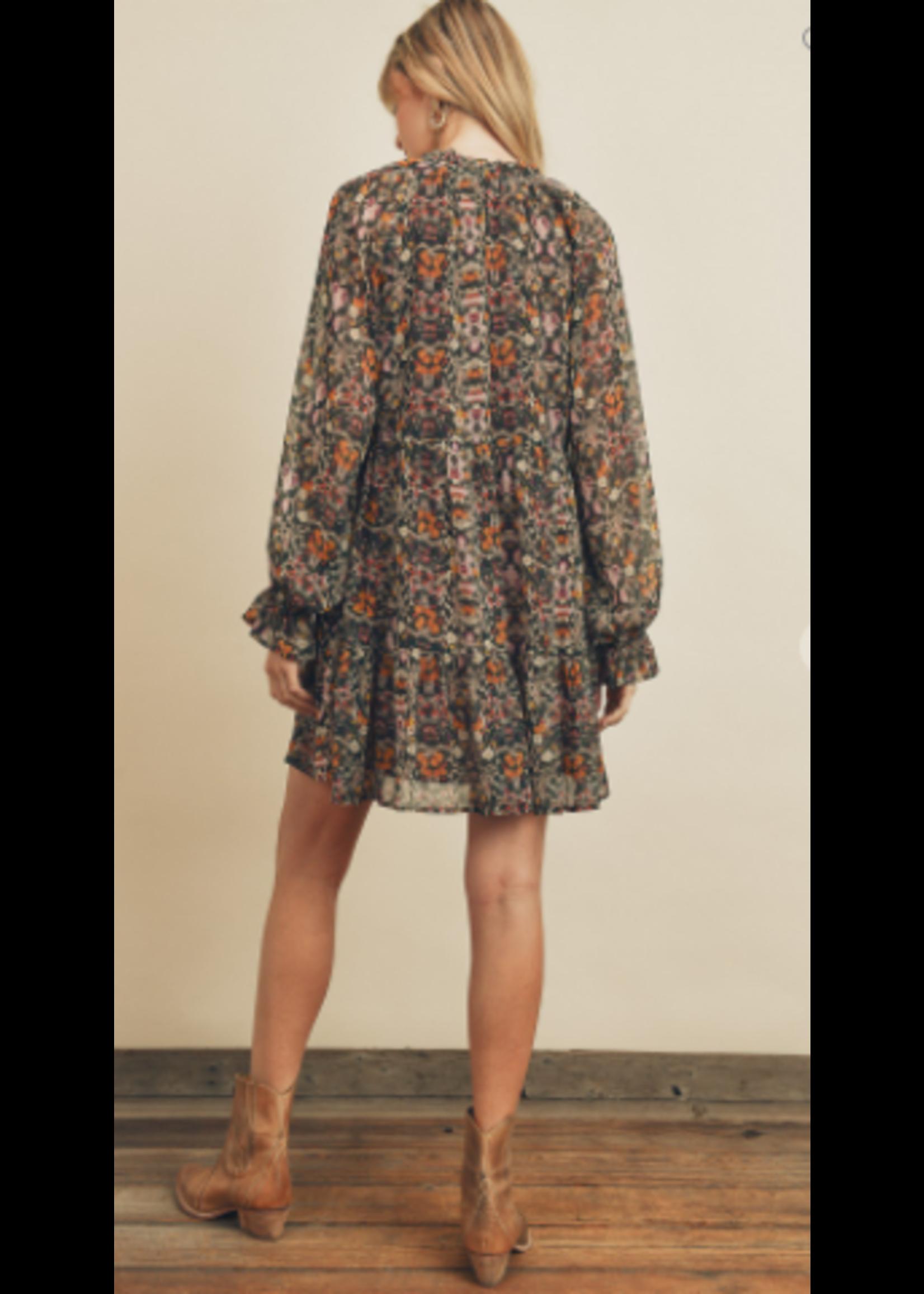 Dress Forum Drip Floral Dress