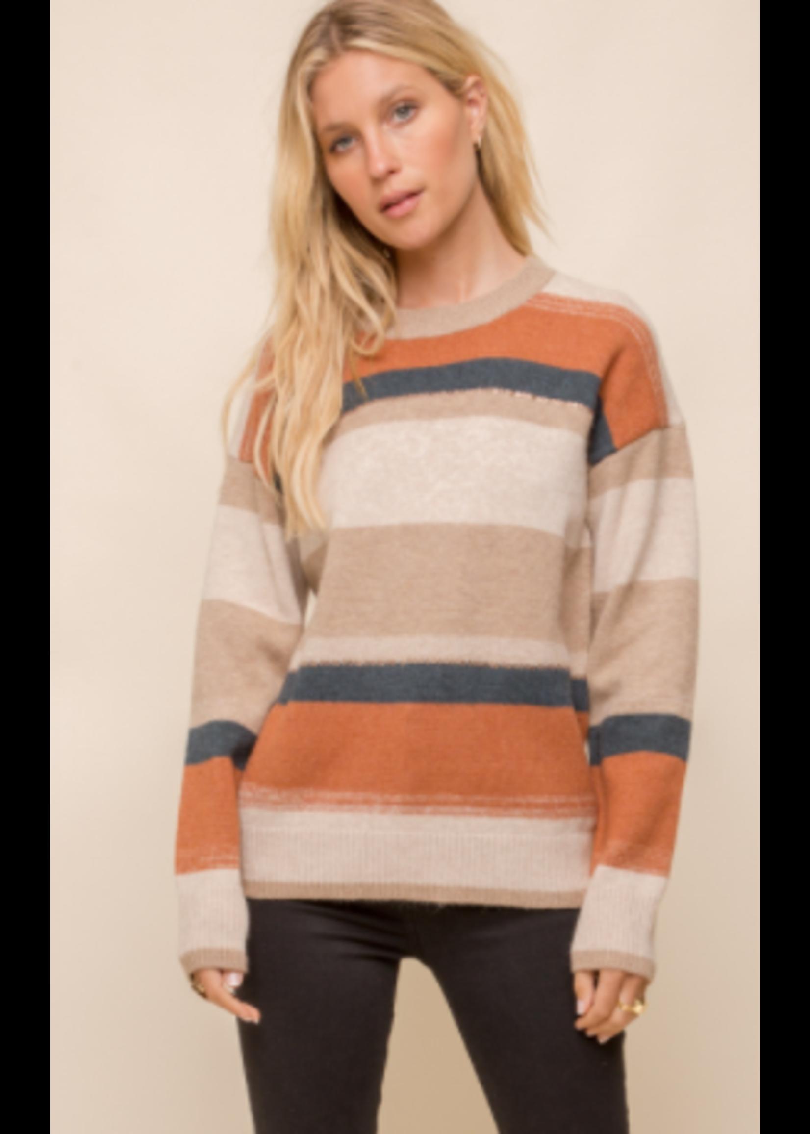 Hem & Thread Multi Color Sweater