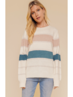 Hem & Thread Teal Sweater