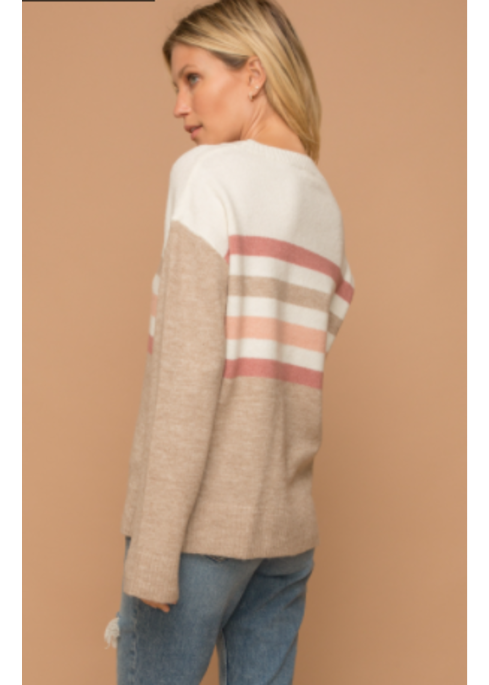Hem & Thread Ivory Sweater