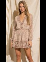 BaeVely Lurex Mini Dress